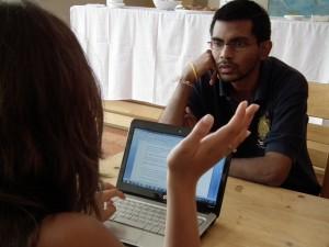 Maria Interviews Vishal