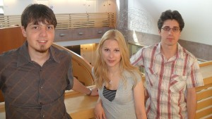 Zoltan, Anna, and Ferenc (L to R)