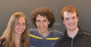 From Left to Right: Iryna Sivak, Mark Freeman, James McVittie