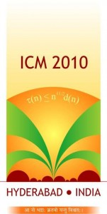 International Congress of Mathematicians 2010 Logo